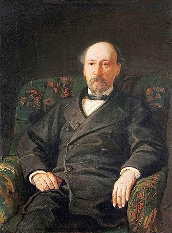 Н.Н.Ге. Портрет Н.А.Некрасова. 1872 год