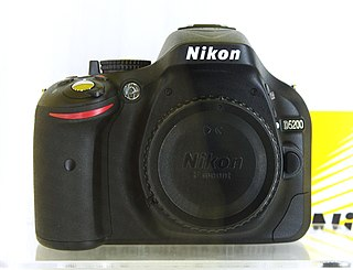 Nikon D5200 Digital single-lens reflex camera