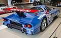 Nissan R390 GT1 (1998) rear-right 2012 Nissan Global Headquarters Gallery.jpg