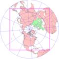 Noordpool centraal stereografisch beter dan vanuit ruimte bol canada centraal.PNG