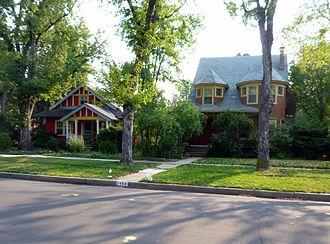 History of Colorado Springs, Colorado - North End Historic District