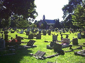 North Sheen Cemetery - Image: North Sheen Cemetery. geograph.org.uk 46385