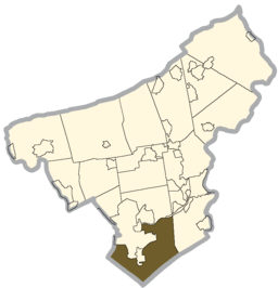 Northampton county - Lower Saucon Township.png