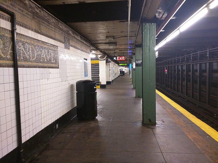 Nostrand Avenue station (IRT Eastern Parkway Line)