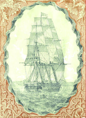 SMS Novara (1850) - Image: Novara expedition report book cover 1865