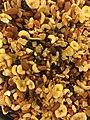 Nut and-fruit mixes DEN LILLE NOTTEFABRIKKEN Norway Naturblanding rosiner torket frukt naturlige notterr (paranotter mandler valnotter) og torrostede cashewnotter 2017.jpg