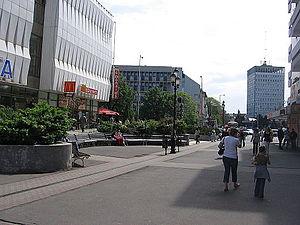 Nyiregyhaza main street
