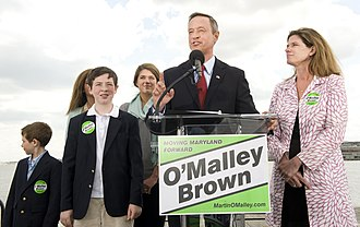 Martin O'Malley - Martin O'Malley announces gubernatorial campaign in Baltimore.