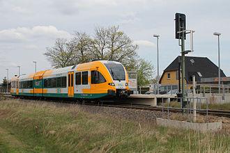 Ostdeutsche Eisenbahn - Stadler GTW on the line RB51 in Brandenburg