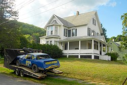 House and stock car