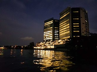 Lagos - Oando Head Office in Victoria Island