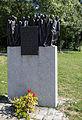 Obermenzing - Schloss Blutenburg - Gedenkstein Todesmarsch 002.jpg