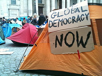 Occupy London - Image: Occupy London Tent