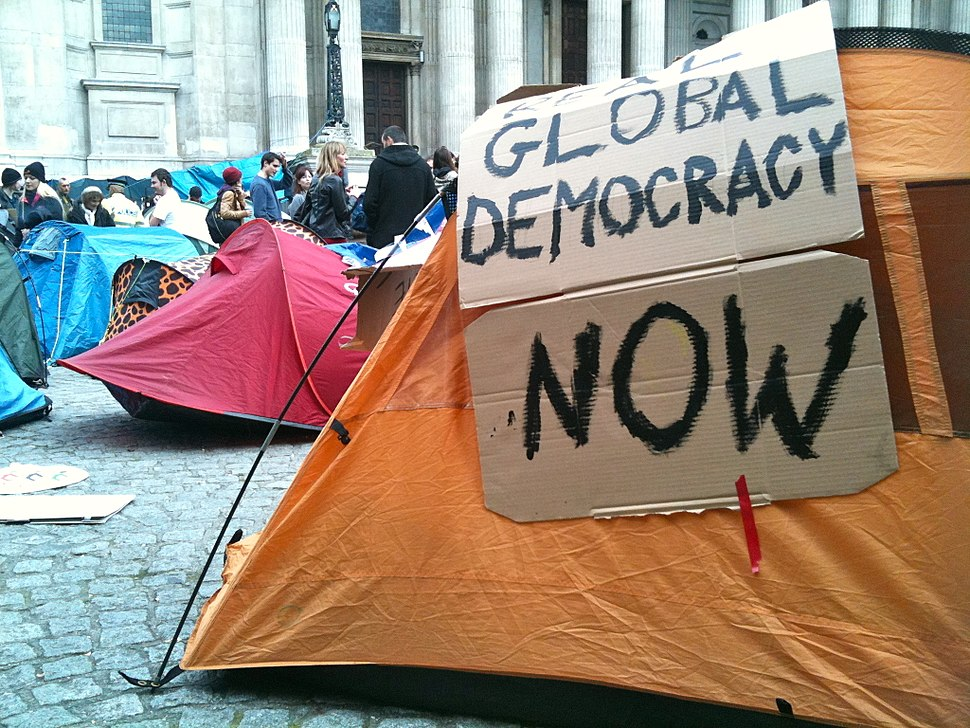 Occupy London Tent