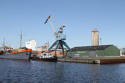 So kommt man zu Odense Havn mit den Öffentlichen - Mehr zum Ort Hier