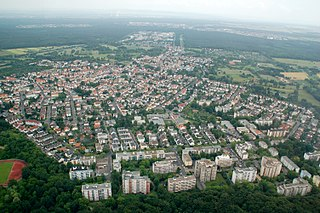 Offenbach-Bieber Stadtteil of Offenbach am Main in Hesse, Germany