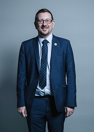 Shadow Secretary of State for Communities and Local Government - Image: Official portrait of Andrew Gwynne