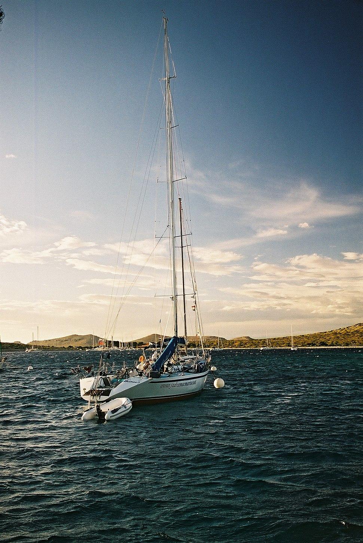 Offshore Racing Sailboat