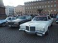 Old American cars at Helsinki Market Square 1.jpg