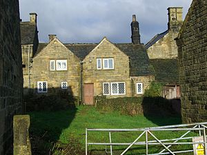 Brightholmlee - Old Hall Farmhouse is grade II listed.