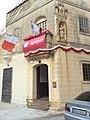 Old Niche of St Joseph on semi-modern building 01.jpg
