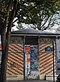 Old electrical transformer, avenue Gambetta, Paris 9 September 2014.jpg