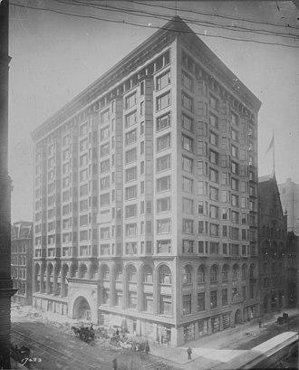 Chicago Stock Exchange - Old Chicago Stock Exchange Building, ca. 1894