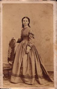 Olive Oatman Carte De Visite Circa 1863