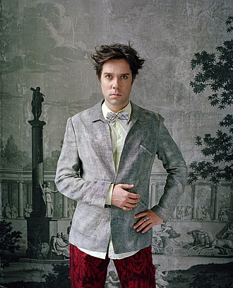 Rufus Wainwright - Portrait of Rufus Wainwright by Oliver Mark, Berlin 2010
