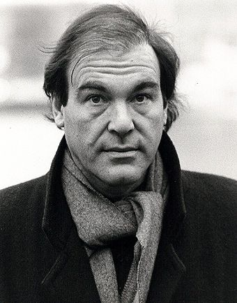 Oliver Stone (pictured in 1987) wrote the script for Scarface while struggling with his own addiction to cocaine. Oliver Stone 01.jpg