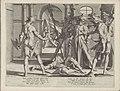 Onthoofding van de Romeinse rechter Papinianus Thronus Justitiae duodecim pulcherrimis tabulis artificiosissime aeri incisis illustratus (serietitel), BI-1893-3554-6.jpg