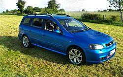 Astra G Opc Caravan
