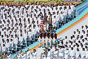 Opening ceremony of the 1984 Olympics