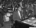 Optreden van Jazz at the Philharmonica in het concertgebouw, Oscar Petersen aa, Bestanddeelnr 910-2888.jpg
