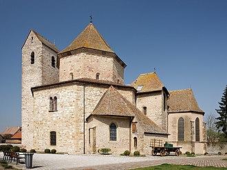 Ottmarsheim - Abbey church