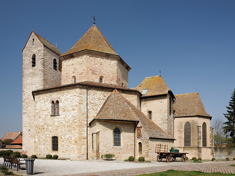 Ottmarsheim abbey church 2011-03