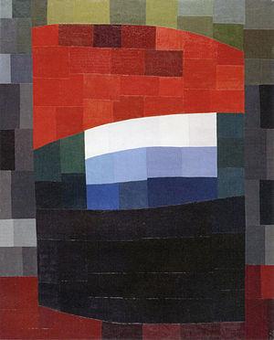 Otto Freundlich - Otto Freundlich Mein roter Himmel (My Red Heaven), 1933
