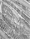 oude afbeeldingen kaart van pieter bast 1599 - amsterdam - 20014205 - rce