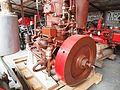 Oude stationaire motor in het MUSEUM voor NOSTALGIE en TECHNIEK, Dorpsstraat 38, Langenboom pic1.JPG