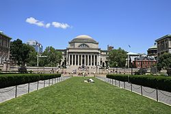 Outside Columbia University Library (5892425145).jpg