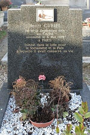 Henri Curiel - The grave of Henri Curiel at Père Lachaise Cemetery