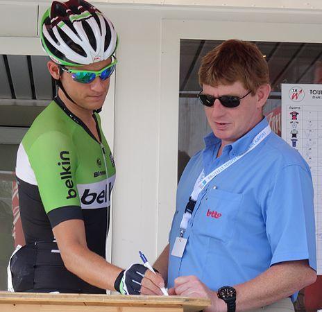 Péronnes-lez-Antoing (Antoing) - Tour de Wallonie, étape 2, 27 juillet 2014, départ (C109).JPG