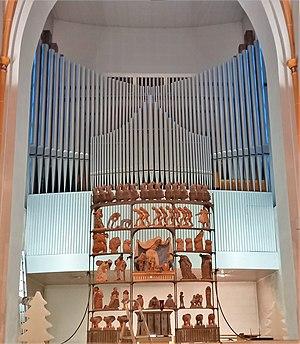 Püttlingen, Liebfrauenkirche (Haerpfer-Orgel, Prospekt) (1).jpg