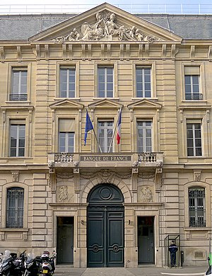 Bank of France - Headquarters : Hôtel de Toulouse in Paris