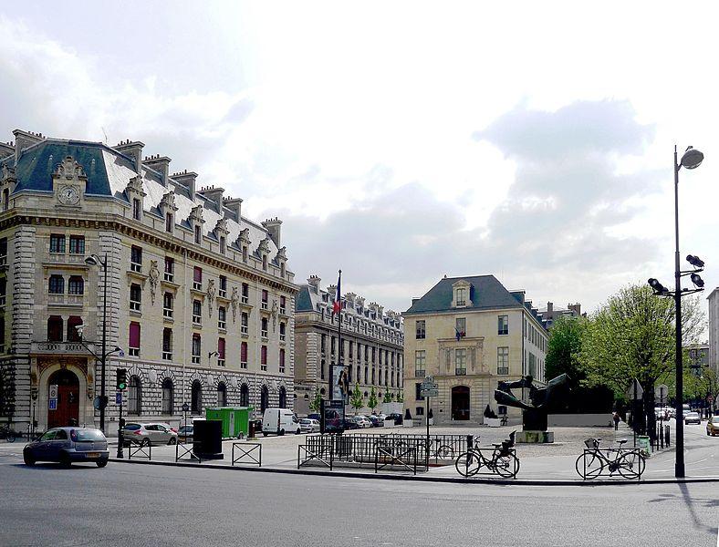 Fichier:P1010960 Paris IV Place du Père-Teilhard-de-Chardin reductwk.JPG