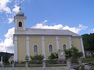 Petrovice, Bytča District - Roman Catholic church