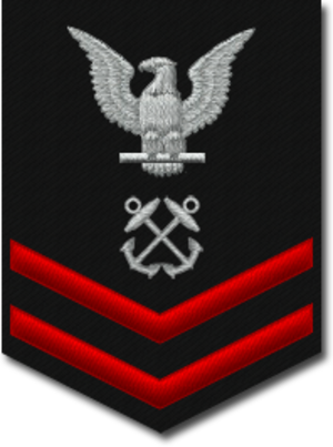 Petty officer second class - E-5 insignia