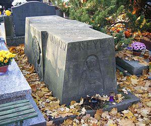 Tadeusz Breyer - The grave of Tadeusz Breyer. Powązki Cemetery, Warsaw