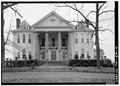 PORTICO ELEVATION - Glen Raven, Washington Road, Cedar Hill, Robertson County, TN HABS TENN,74-CEDHI.V,2-4.tif