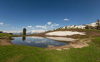Payee Lake - Paaye Lake in spring